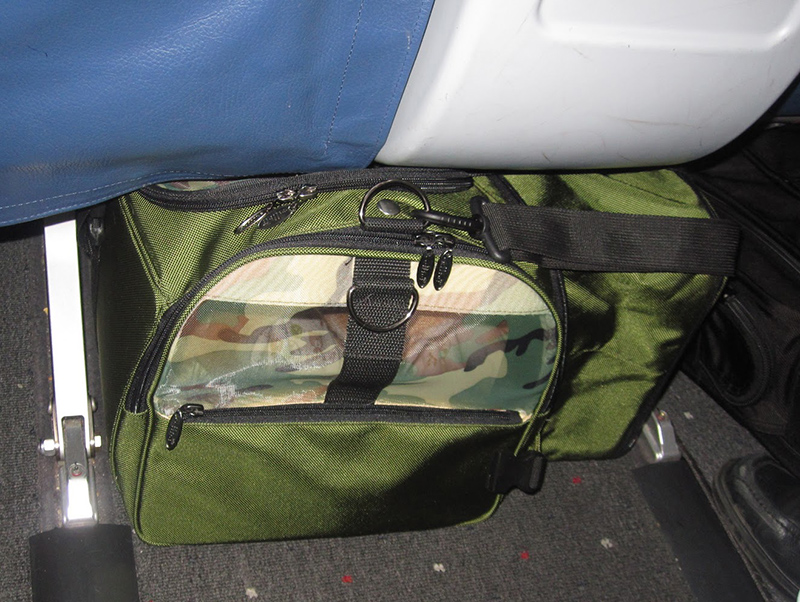 Custom Made Expandable Airline Travel Carrier For A 17 Lbs
